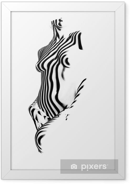 zebra Framed Poster - Themes