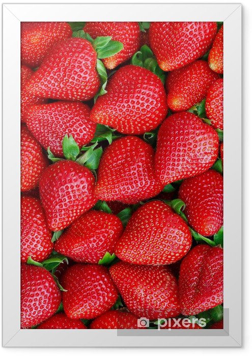 strawberries Framed Poster -