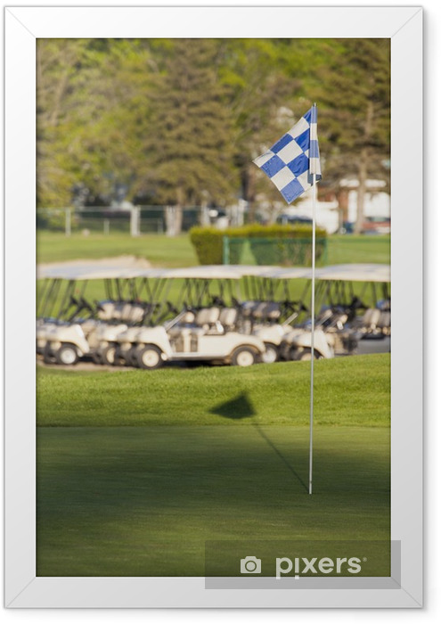 Golf Course Framed Poster - Golf