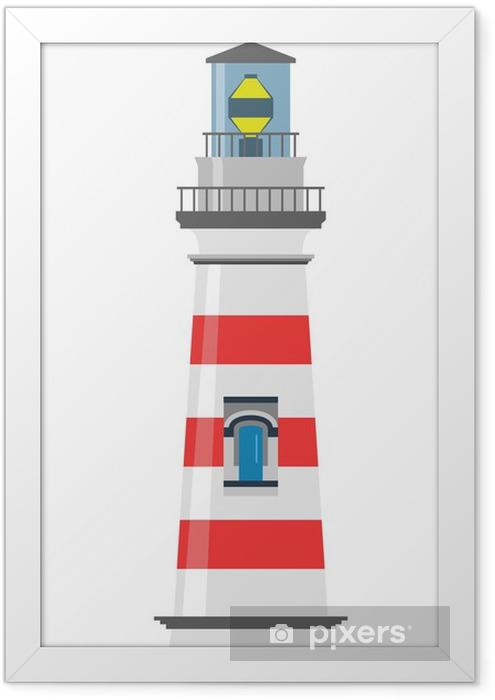 Poster en cadre Phare - Infrastructures