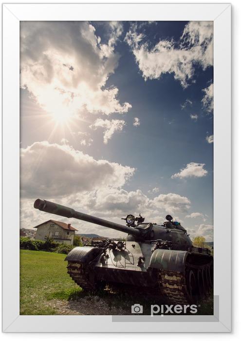 Poster en cadre Army Tank - Autres sentiments
