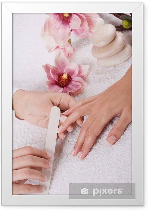manicure Framed Poster - Destinations