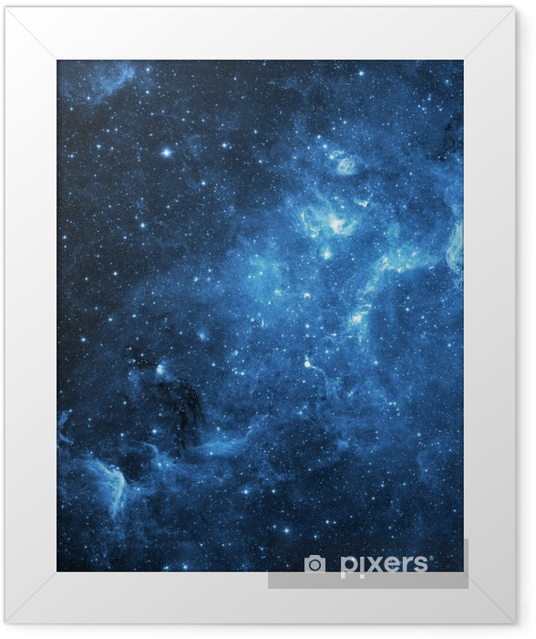 galaxy (Collage from images from www.nasa.gov) Framed Poster - Universe