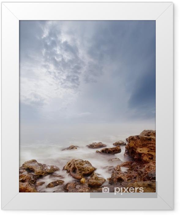sea Framed Poster - Landscapes