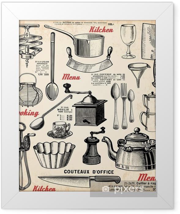 Plakat w ramie Gotowanie - Tematy