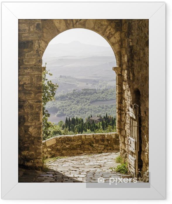 Plakat w ramie Toskania - Tematy