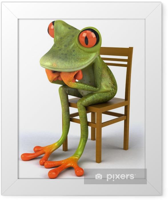 Frog Framed Poster - Signs and Symbols