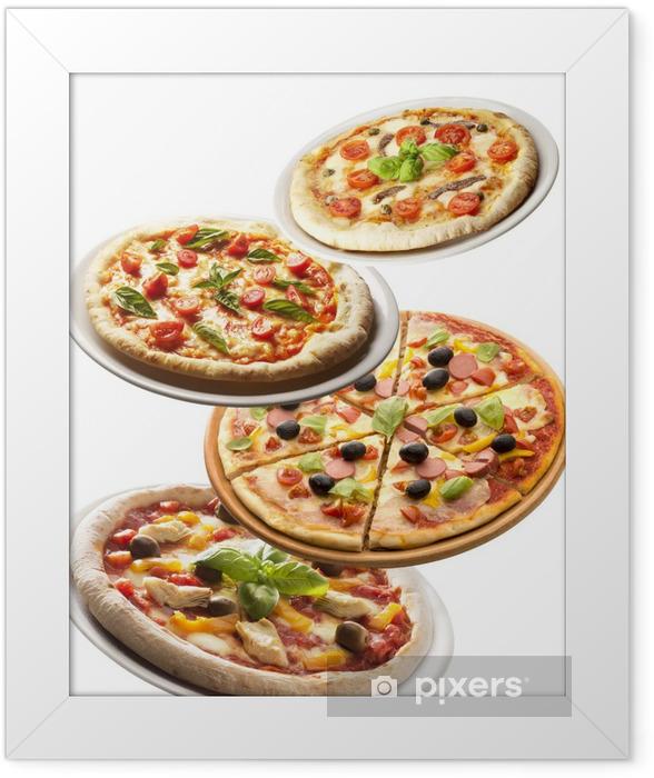 Plakat w ramie Pizza - Posiłki