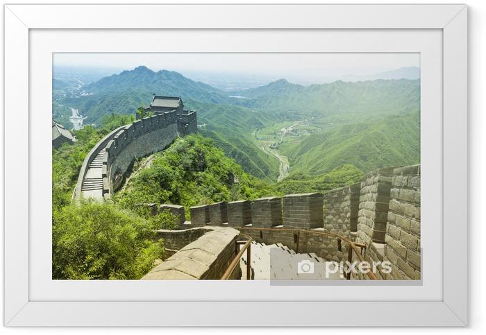 Ingelijste Poster De Grote Muur van China - Stijlen