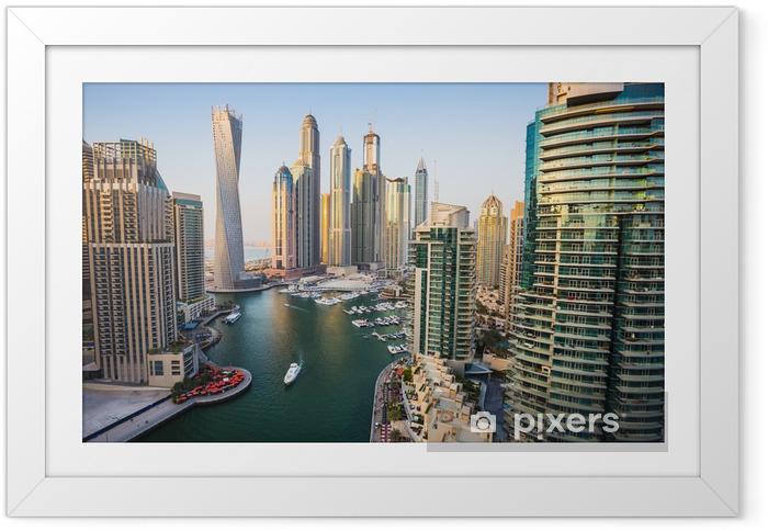 Poster en cadre Dubai Marina, Émirats Arabes Unis - Thèmes