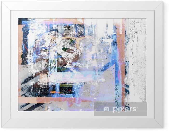 Obrazek w ramie Obraz olejny - Sztuka i twórczość