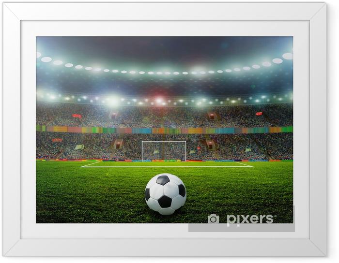 Plakat w ramie Piłka nożna - Sporty drużynowe