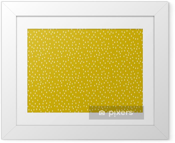 Plakat w ramie Abstrakcyjny wzór bez szwu - Zasoby graficzne