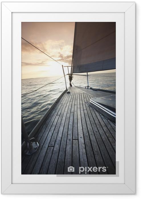 Plakat w ramie Jacht - Chorwacja