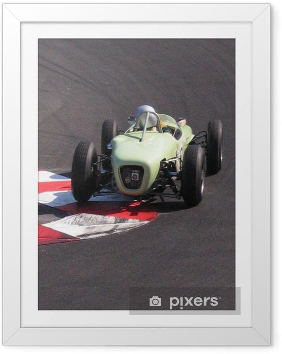 Plakat w ramie Samochód wyścigowy - Tematy