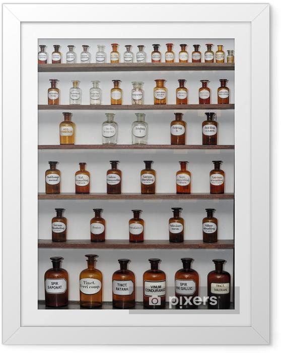 Plakat w ramie Old Pharmacy - Zdrowie i medycyna