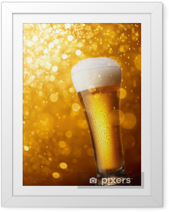 Ingelijste Poster Bier -