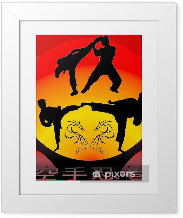 Ingelijste Poster Karate - Thema's