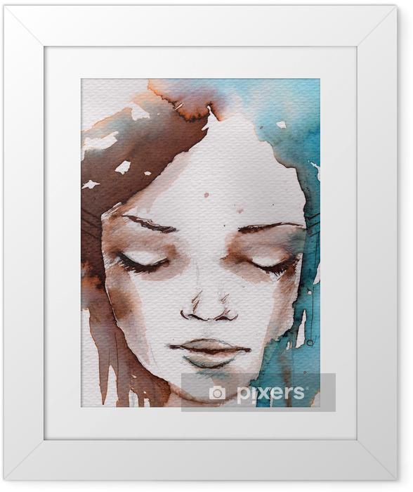 Plakát v rámu Zima, zima portrét - Styly