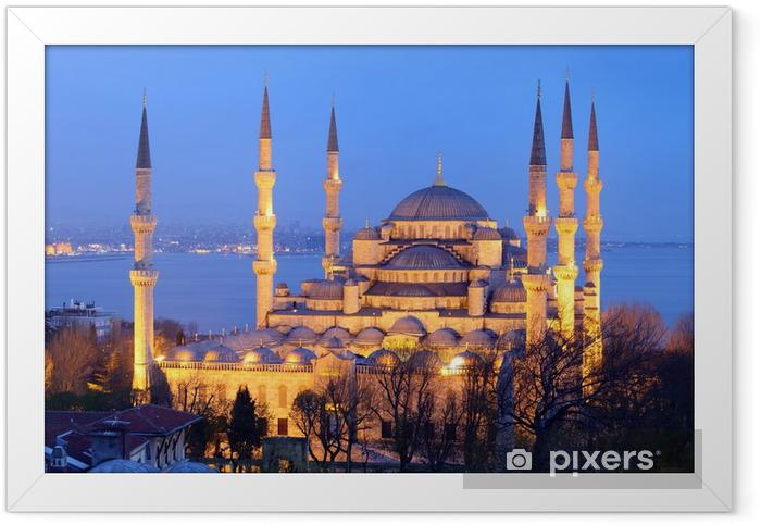 Poster en cadre Mosquée bleue à Istanbul - Monuments