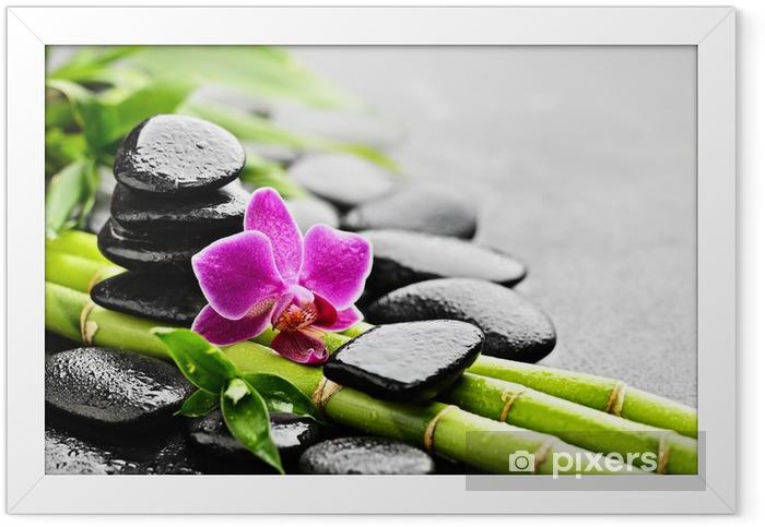 Poster en cadre Orchidée - Styles