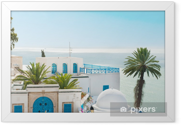 Poster en cadre Sidi bou said - Îles