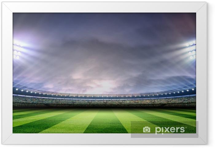 Plakat w ramie Stadion - Football amerykański