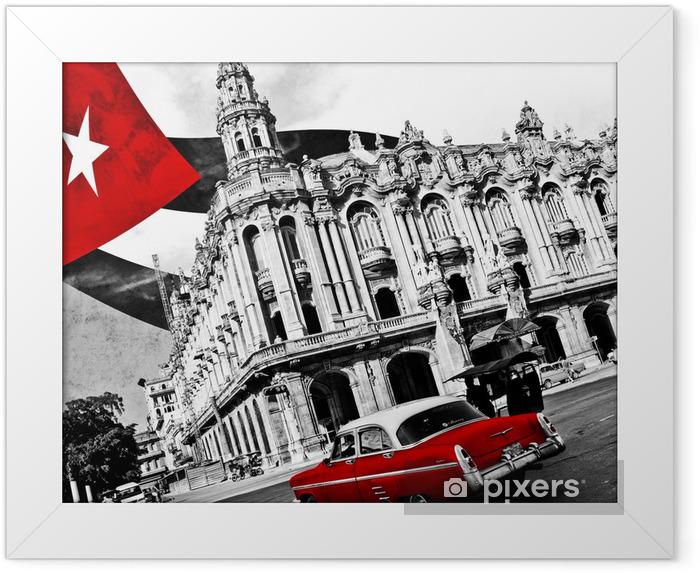 Poster i Ram Kuba (n & b) -