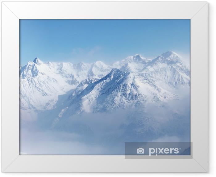 Poster en cadre Haut de alpes - Styles