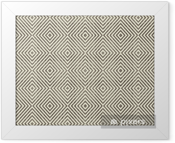 Obrazek w ramie Abstrakcyjne geometryczne bez szwu tła - Tła