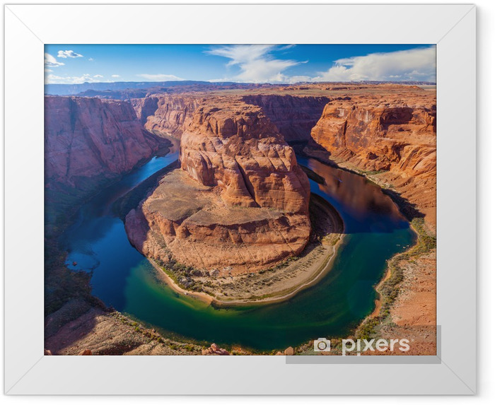 Poster i Ram Horseshoe Bend Canyon, Arizona - Amerika