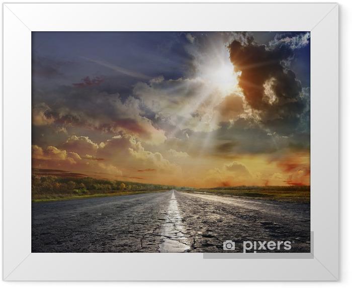 Plakat w ramie Ummer krajobraz starej drogi - Przeznaczenia