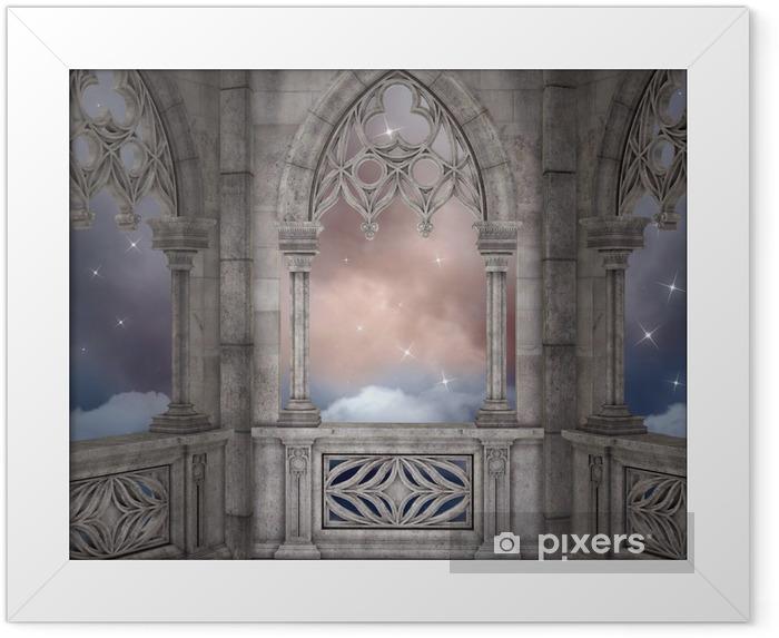 Ingelijste Poster Elven paleis achtergrond - Thema's