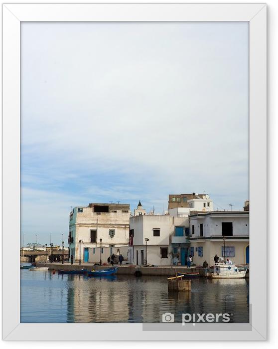 Poster en cadre Bizerte, Tunisie - Afrique