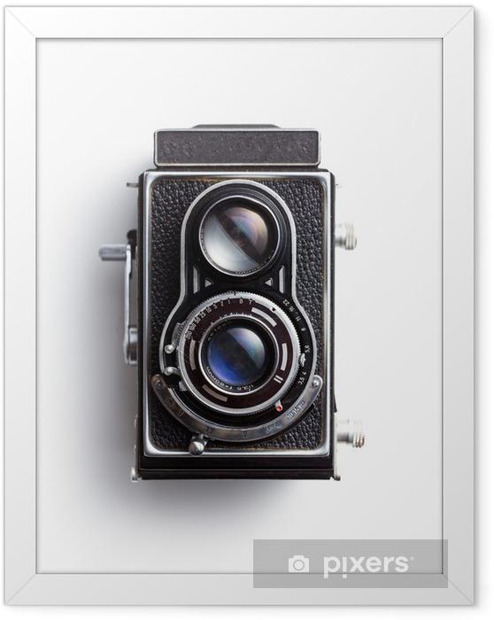 Plakat w ramie Stary aparat - Sztuka i twórczość