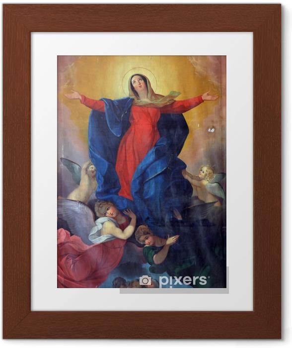Poster en cadre Assomption de la Vierge Marie - Religion