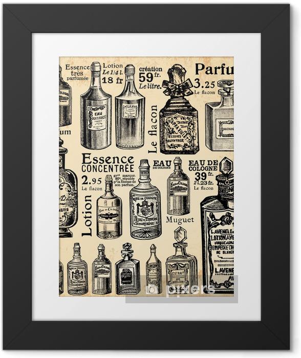 Fotografia com Moldura La parfumerie - Vintage