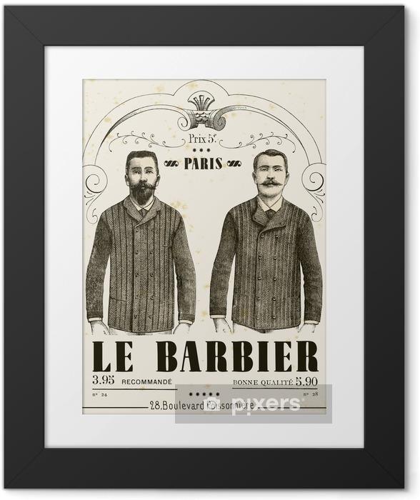 Fotografia com Moldura The Barber - Bigode