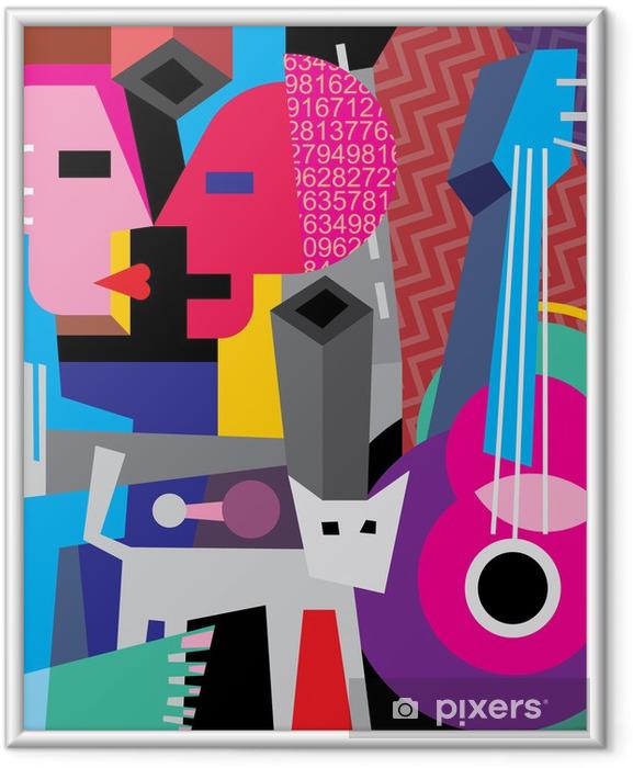 Poster en cadre The dance - Thèmes