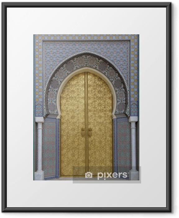 Poster en cadre Portes anciennes, Maroc - iStaging