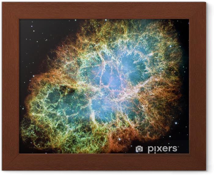 Obrazek w ramie Mgławica Krab - Wszechświat