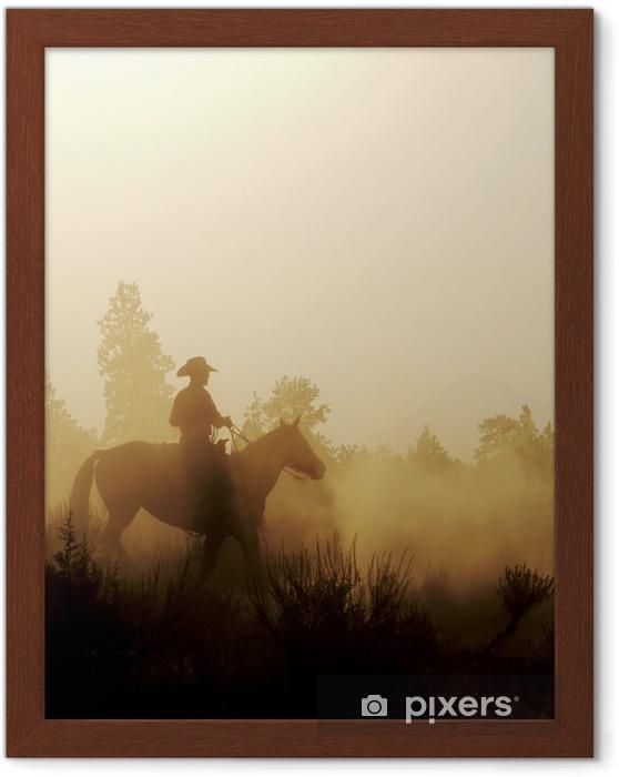 Poster en cadre Cowboy pacifique - Mammifères