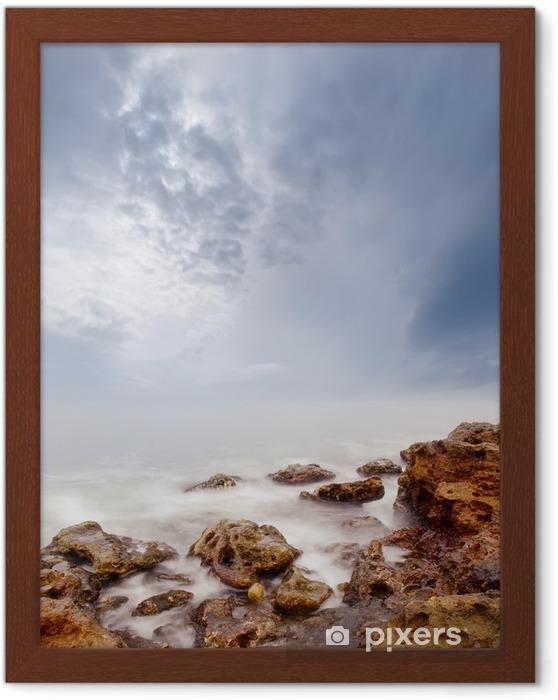 Innrammet plakat Hav - Lanskap
