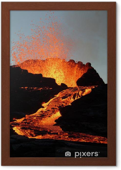 Ingelijste Poster Volcan1 - Natuurrampen