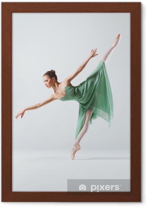 Póster Enmarcado The dancer - Temas