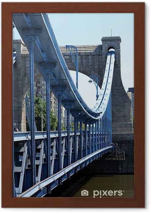 Plakat w ramie Most grunwaldzki - wrocław - Tematy