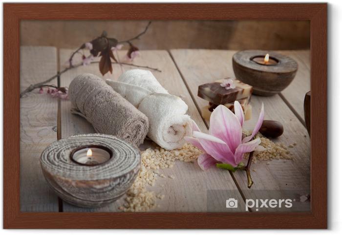 Plakat w ramie Ustawienie spa naturalne - Przeznaczenia