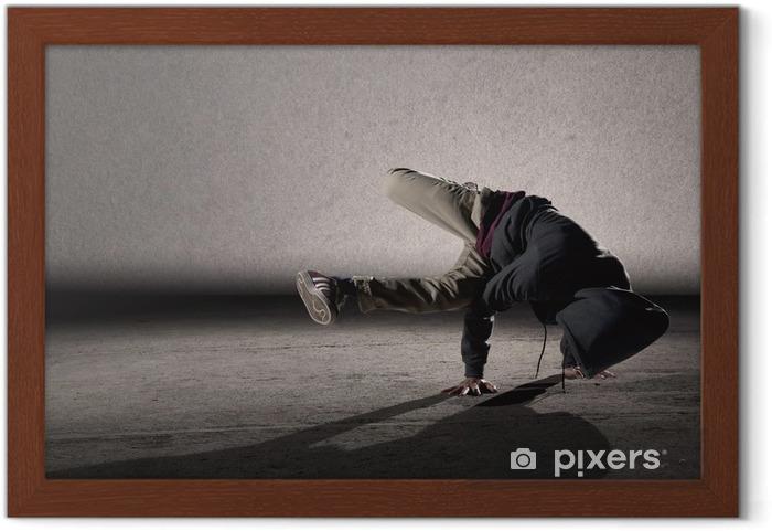 Poster in Cornice Fresco stile breakdance - Temi