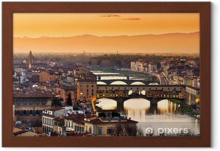 Poster en cadre Firenze - Thèmes