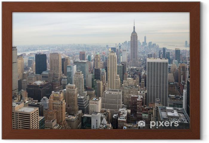 Poster en cadre New york city skyline - Thèmes